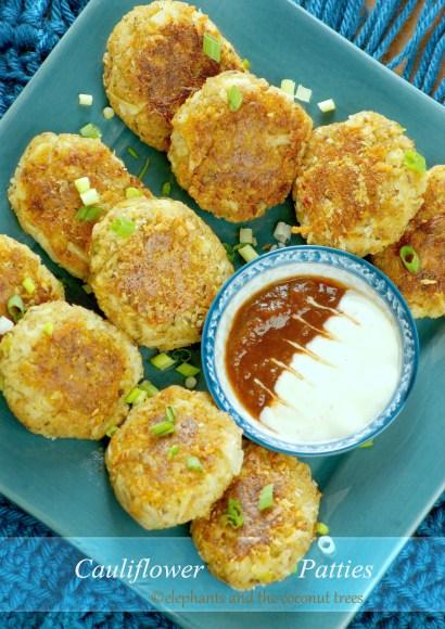 Thumbnail for Cauliflower Patties / Cauliflower Cutlet