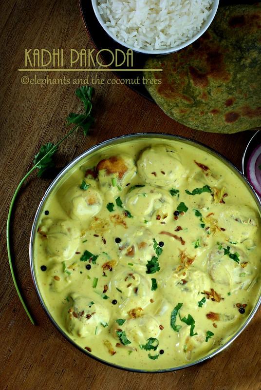 kadhi pakoda Punjabi recipe