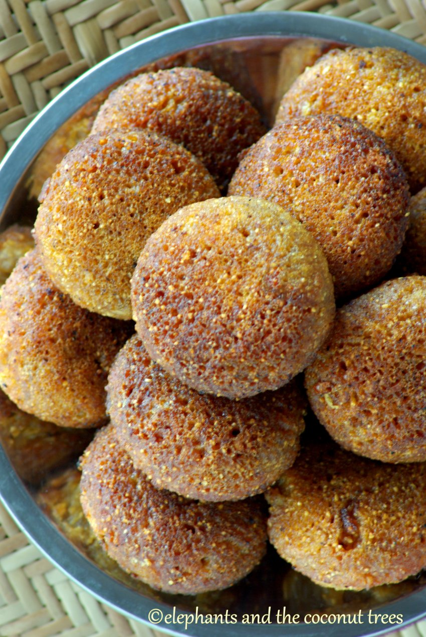 sweet semolina fritters, lava paniyaram,Indian sweets for all occasions