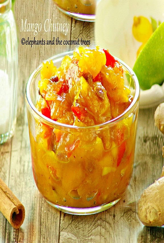 sweet mango chutney,Dips and pickles