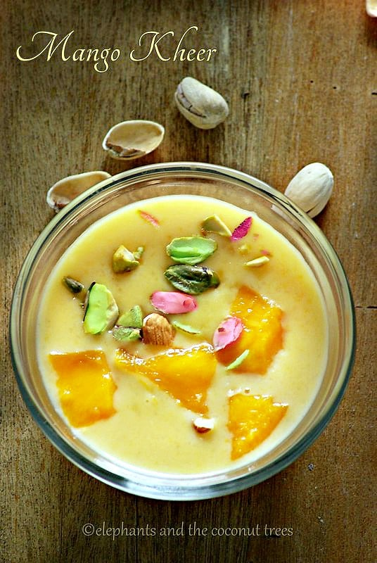 mango pudding ,Indian sweets for all occasions