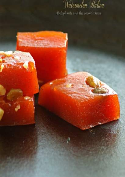 Thumbnail for Watermelon halwa – No artificial colors – Indian sweet (Video Recipe)