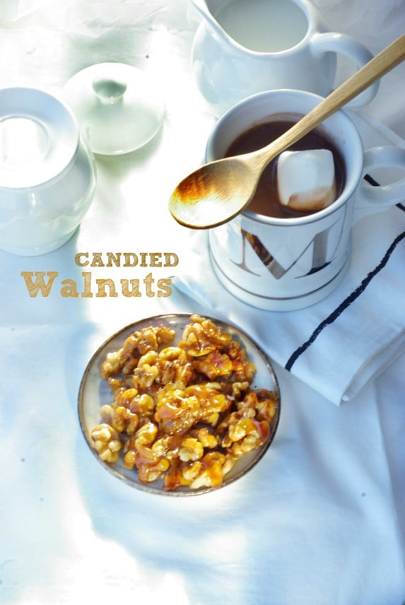 candied walnut ideal for snacking