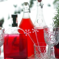 Cranberry infused vodka | Christmas cocktail ideas