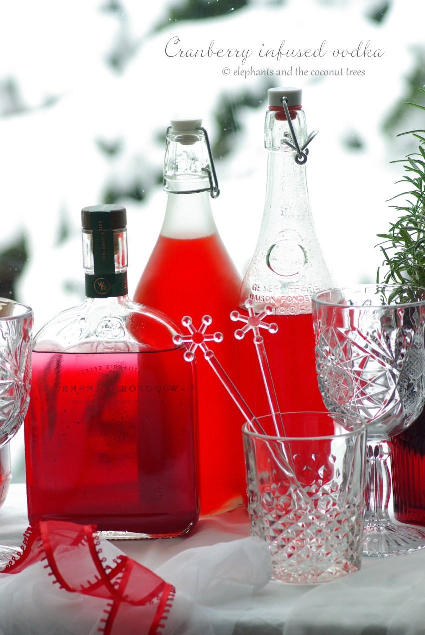 cranberry infused vodka recipe