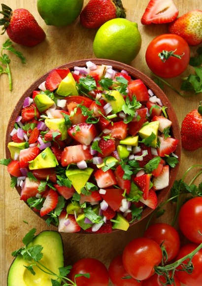 Thumbnail for Strawberry salsa