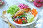 30 minutes meal - seafood bowl