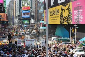 The 2nd U.S. #IvoryCrush in Times Square Takes NYC By Storm