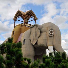 """Lucy the Elephant Celebrates the Anniversary of Her 135th Year in 2016 But the Famous American Landmark Will Not Become a """"Spokes-Elephant"""" to Help Bring Awareness to the Plight of Captive Performing & Circus Elephants"""