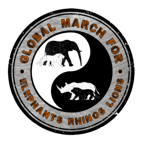 Today is the Day: Global March For Elephants and Rhinos: Save Elephants From Extinction