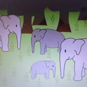 """Animated  Elephant Video : """"The Story of the Indian Elephant"""" : What Does the Future Hold For These Intelligent Creatures? It Is Up To Us"""
