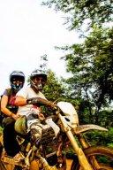 Dirt bikes in Cambodia