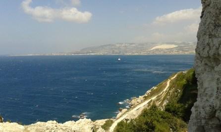The Lebanese coast