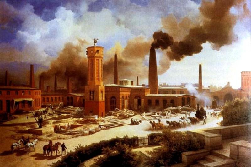 Resultado de imagen de fotos revolucion industrial