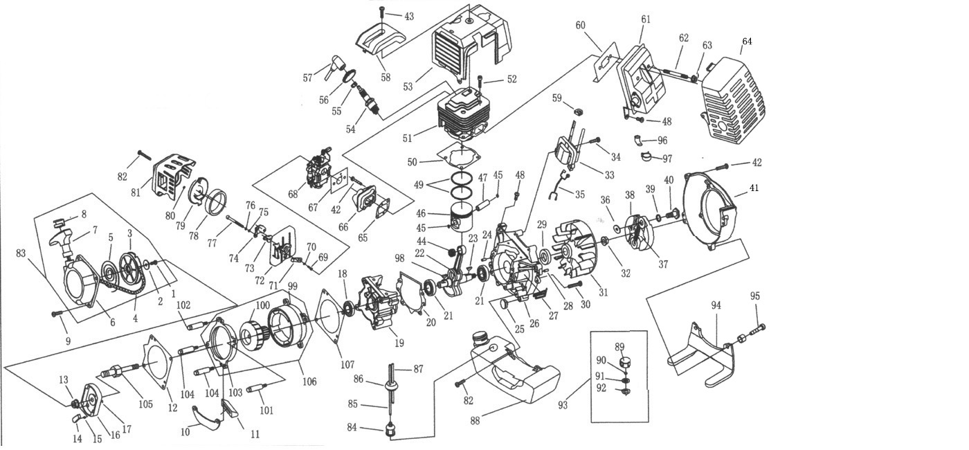 49cc engine parts diagram two way light switch wiring uk