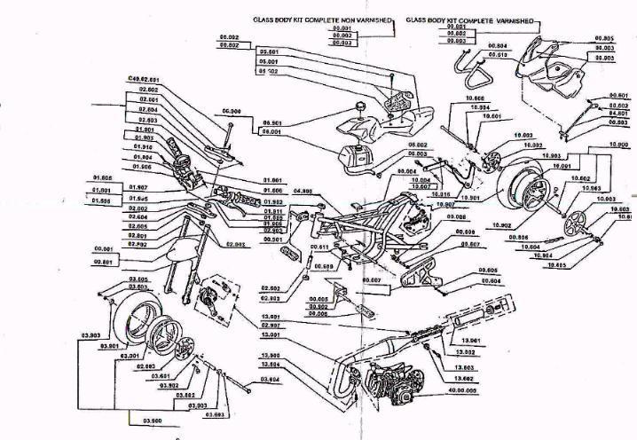 110cc pocket bikes wiring