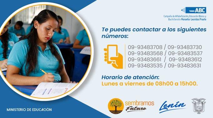 Inician las inscripciones de la Campaña Todos ABC dirigida a personas con escolaridad inconclusa, para mayores de 15 años y con más de tres años de rezago educativo. Foto: Coordinación Zonal 1 del Ministerio de Educación del Ecuador.