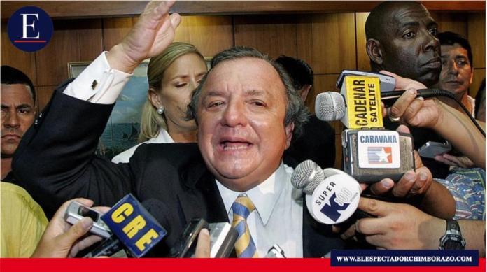 Álvaro Noboa competirá por la presidencia del Ecuador, con el apoyo del movimiento Justicia Social. Foto/ Fuente: CNE.