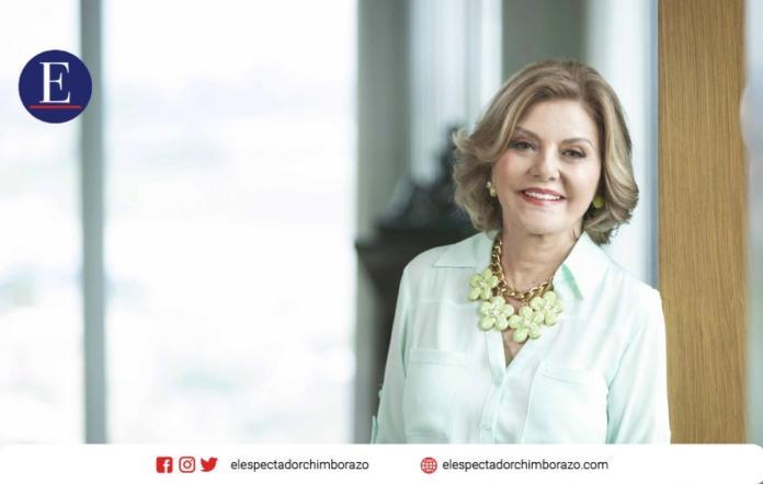 Isabel Noboa Pontón, Presidenta Ejecutiva de Consorcio Nobis reflexiona sobre el papel femenino en la economía a propósito del Mes de la Mujer. Cortesía: Richard Condor / Corporación Nobis.