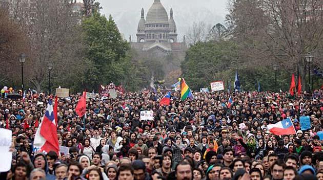 Marchas Estudiantiles  El Espía Ignaciano