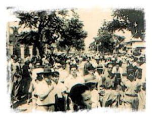 La Huelga de Brazos Caidos y Guerra Civil 1948