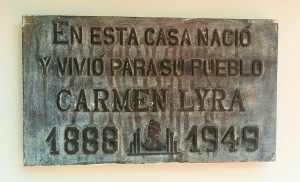 Línea de Tiempo Carmen Lyra
