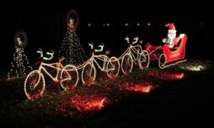 0401 Babbo Natale bicicletta