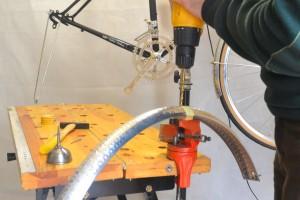 5646 Montiamo la bici parafanghi portapacchi Surly Cross Check 158