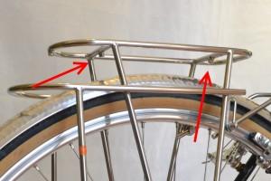 5656 Montiamo la bici parafanghi portapacchi Surly Cross Check 168