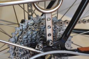 5657 Montiamo la bici parafanghi portapacchi Surly Cross Check 169