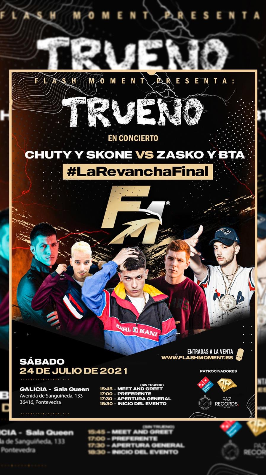 LA REVANCHA FINAL: CHUTY Y SKONE VS BTA Y ZASKO