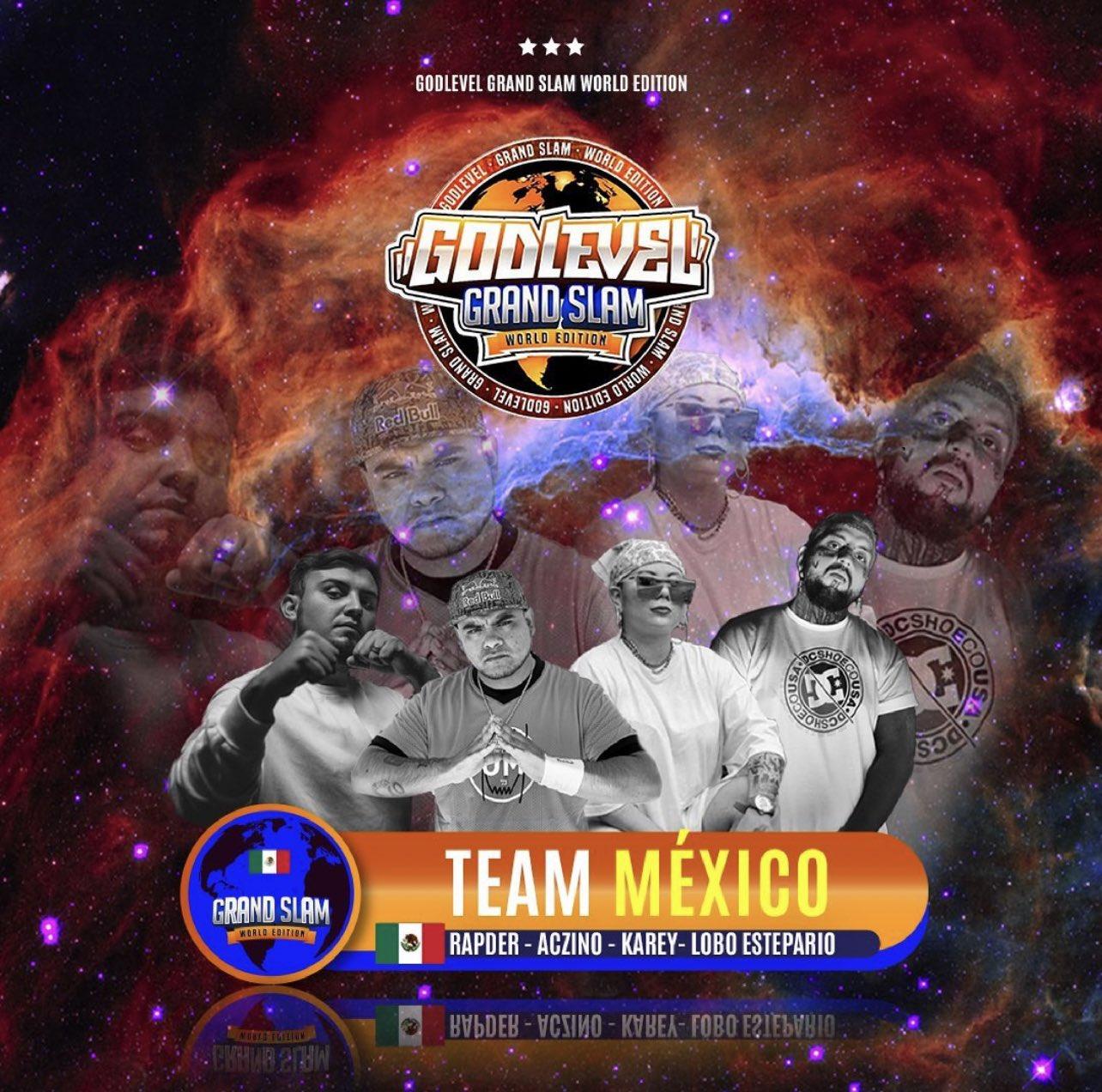 GOD LEVEL: CONFIRMADO EL TEAM MÉXICO