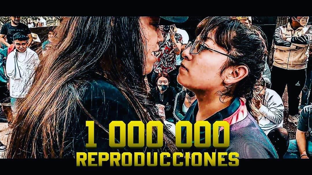 LEWIN VS. AZUKY: PRIMERA BATALLA FEMENINA DE MÉXICO EN LLEGAR AL MILLÓN DE VISTAS