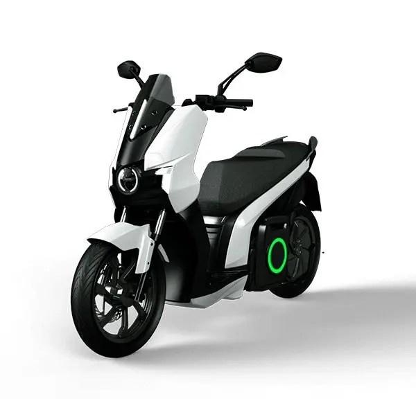 moto eléctrica silence S01 blanca