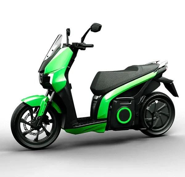 moto eléctrica silence S01 verde 3