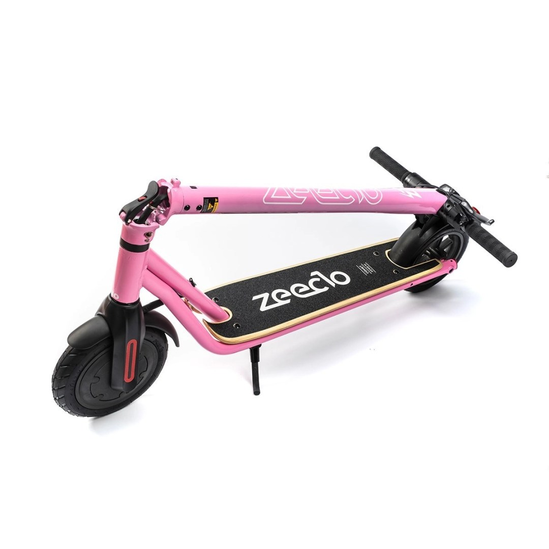 patinete Zeeclo Comet rosa