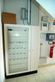Quadro elettrico generale presso struttura artigianale - commerciale