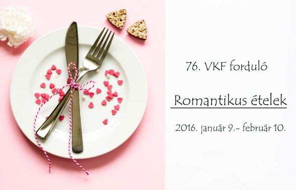 VKF kihívás Romantikus ételek2