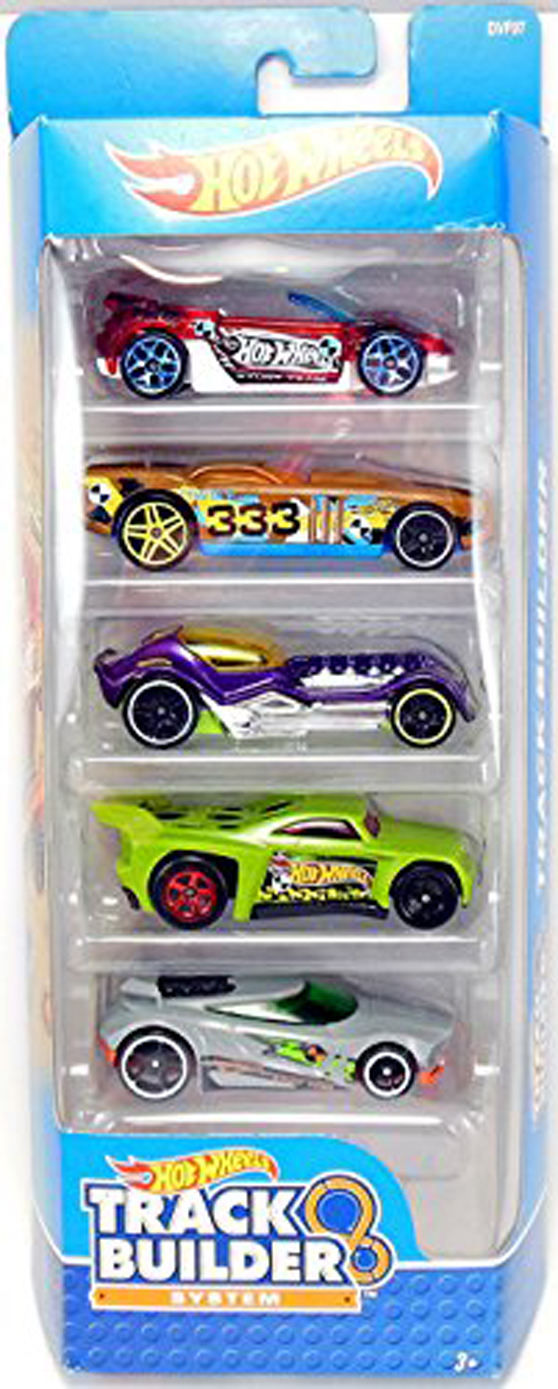 HOT WHEELS TRACK SYSTEM 5 CAR GIFT PACK