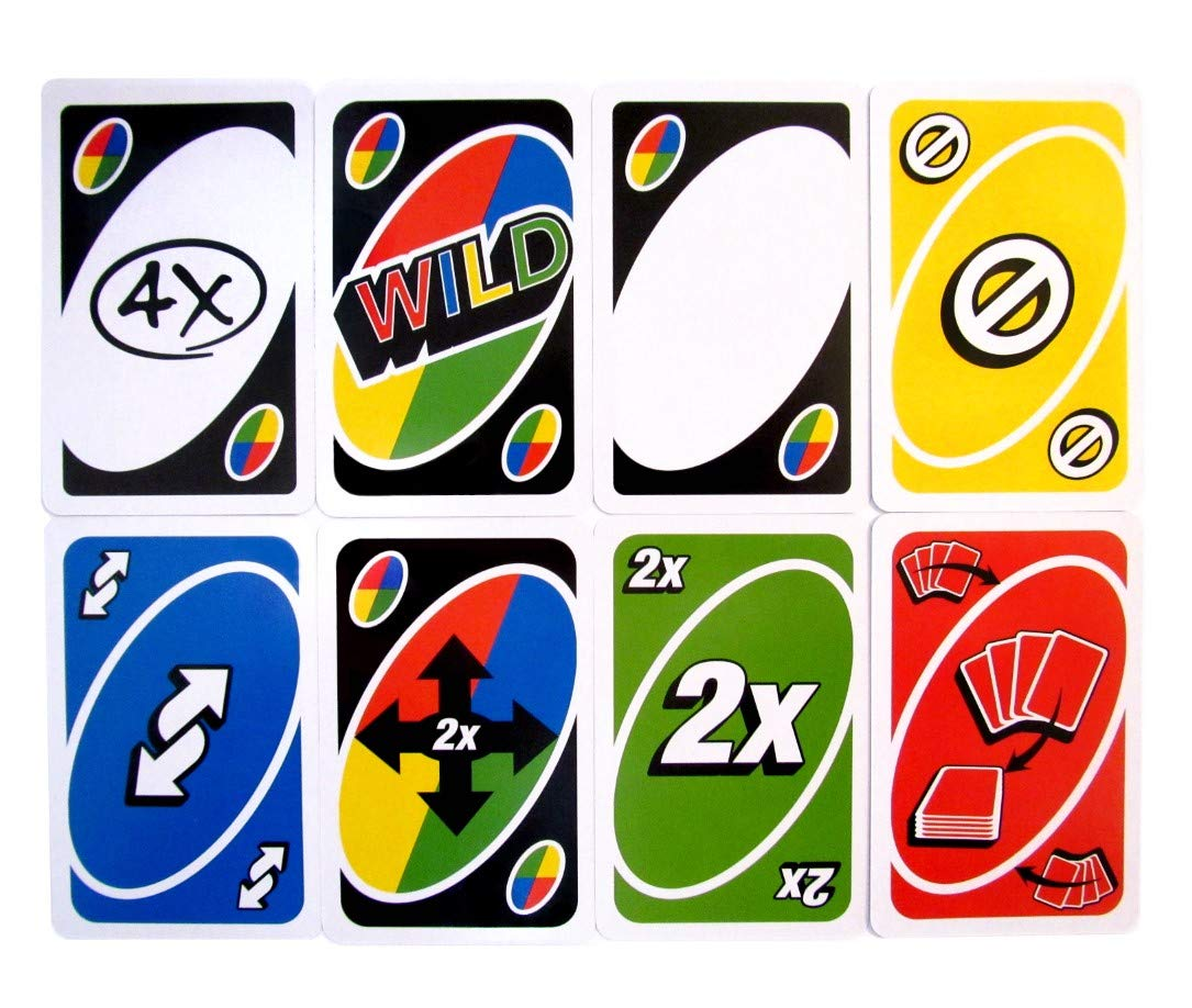 UNO BLAST Game Replacement Cards