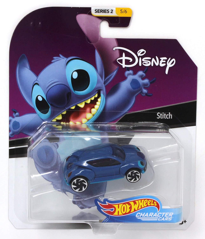 Hot Wheels Character Cars Disney Stitch Vehicle Series 2 5 6 Ele