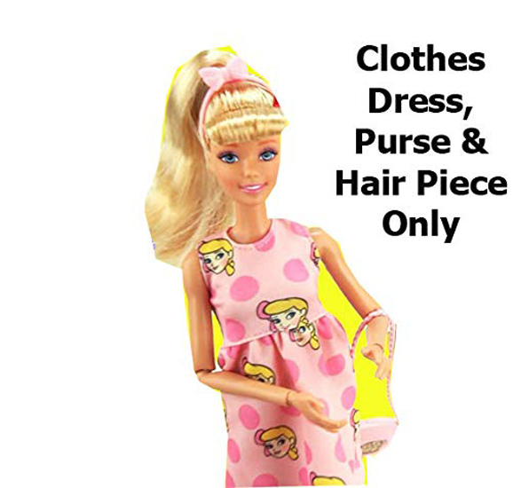 Barbie Doll Clothes NIB! Disney Toy Story 4 MULTI-CHARACTER DRESS !FINAL PRICE