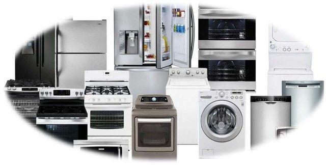 Medidas dos eletrodomésticos