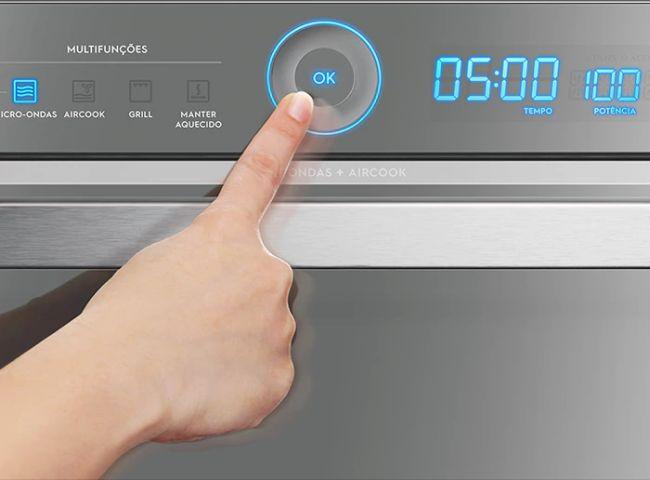 Microondas Electrolux 20L Painel Seguro MTD30 - Ajuste de potência