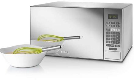 Microondas com porta espelhada – Consul 30 litros com Grill – CMA30