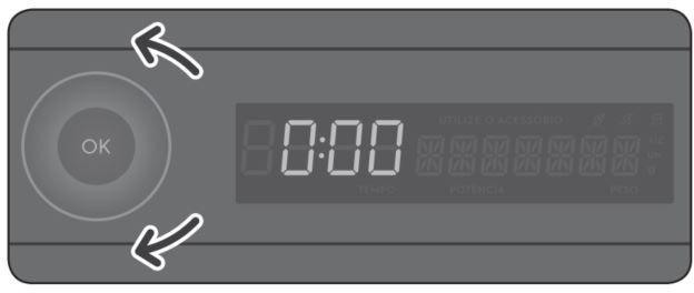 Como utilizar a função grill do microondas MGA42 - ajuste tempo
