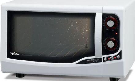 Medidas do Forno Elétrico de Bancada Fischer 44L Gourmet Grill – 9741-Branco