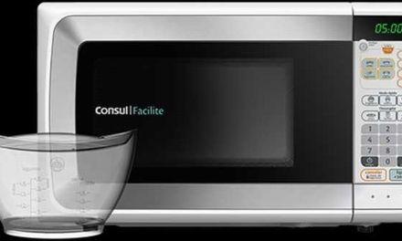 Como descongelar alimentos com microondas Consul 20L CMP25