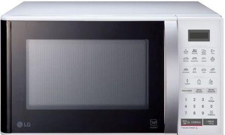 Medidas do Microondas LG 23 litros Branco – MS2355R