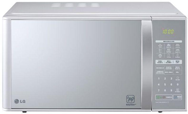 Medidas do Microondas LG 30 litros Prata com Grill - MH7053R